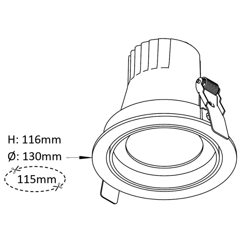 DLV-R 4.5 Inch Tilt
